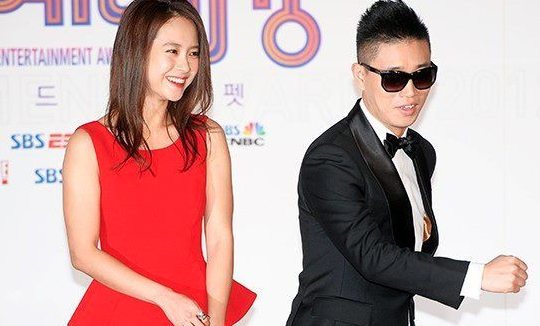 "Gary Surprises Ji Hyo With a Kiss On ""Running Man"""