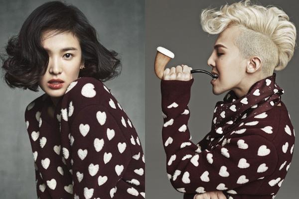song hye kyo g-dragon