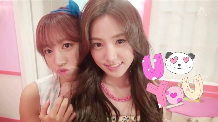 """A Pink Shows Off Their Cute Charms in MV for """"U You"""""""