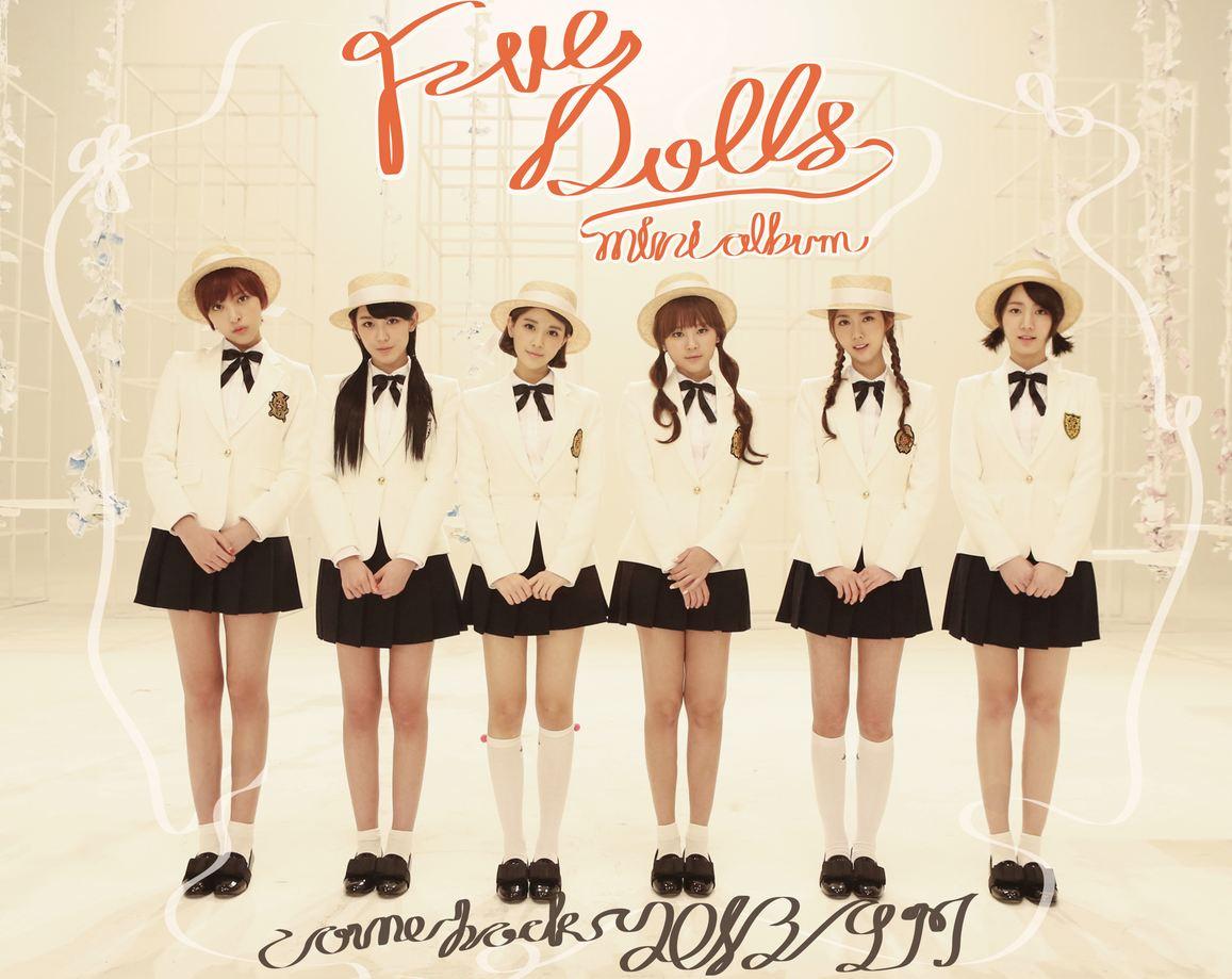 five dolls