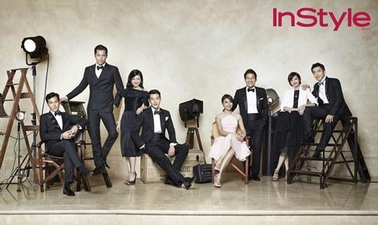 "[Gallery] Kim Woo Bin, Han Hyo Joo, Ha Ji Won, Jung Woo Sung, and More for ""InStyle"" Magazine"