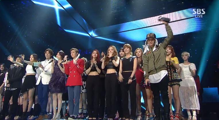 inkigayo sept 29 2013 g-dragon wins
