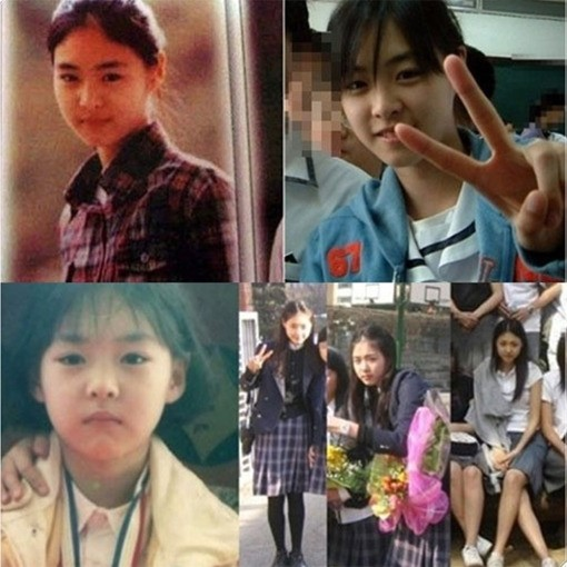 lee yeon hee childhood photo online community