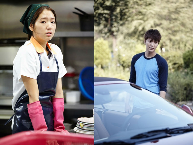 """Lee Min Ho and Park Shin Hye First Stills from """"The Heirs"""""""