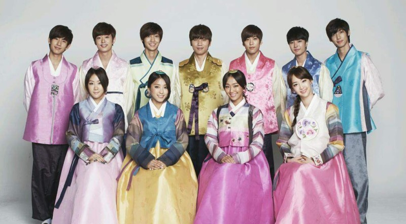 Celebrities Out In Force To Celebrate The Chuseok Holidays