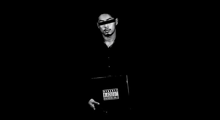 rphabet black suit mv