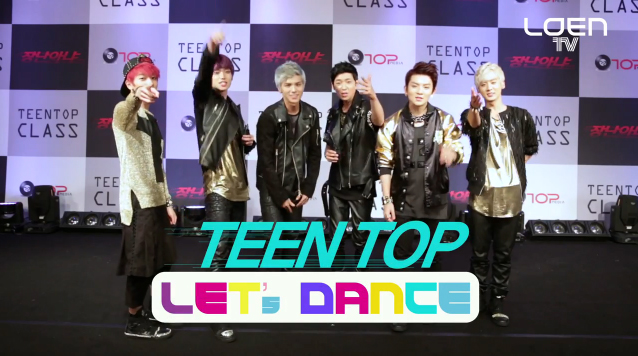 "Teen Top Teaches Their ""Rocking"" Choreography in ""Let's Dance"""