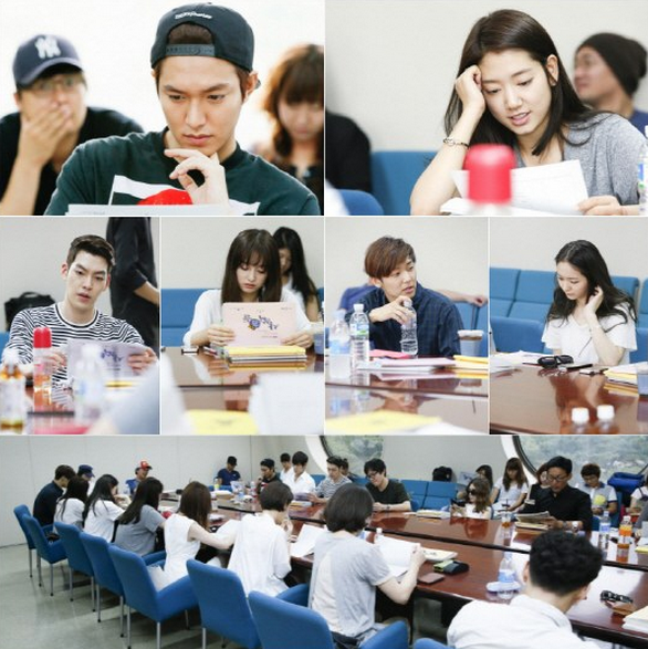 the heirs script reading