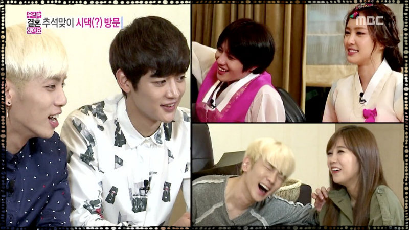 [Recap] It's Not Easy Being a 3rd and 4th Wheel – We Got Married 09.21.13