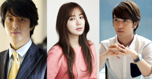 Lee Dong Gun, Yoon Eun Hye, Jung Yong Hwa