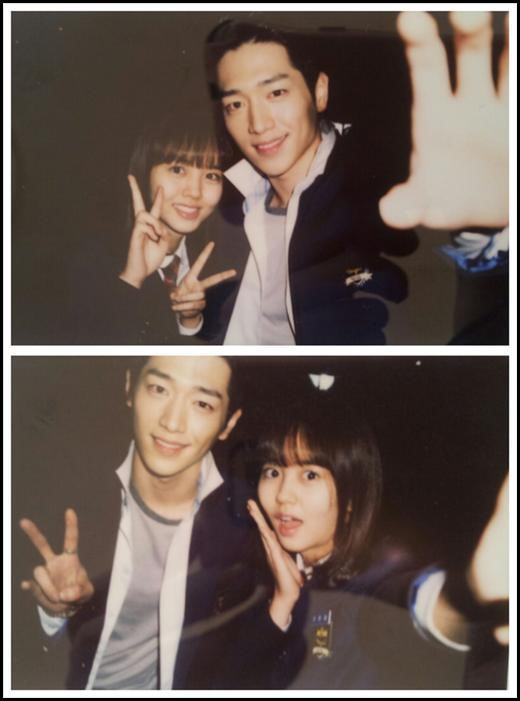 Kim So Hyun and Seo Kang Jun