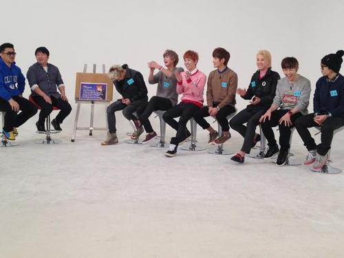 "Block B on ""Weekly Idol"""