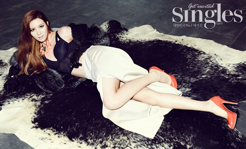Jung Ah (After School) for Singles Magazine