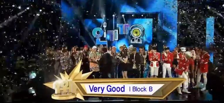 Block B Inkigayo