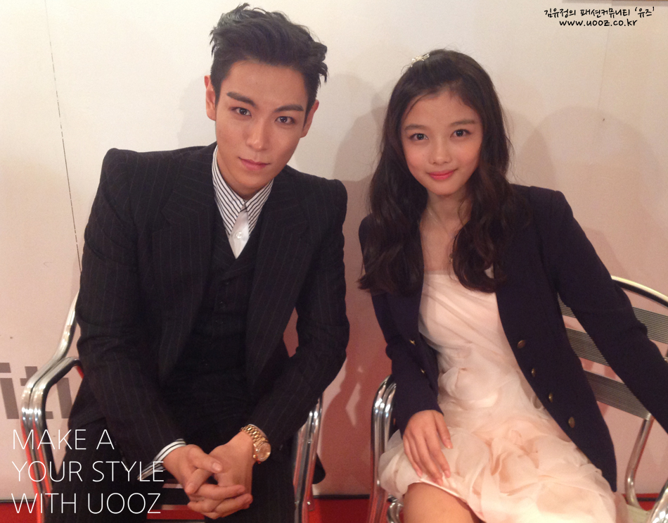 T.O.P. and Kim Yoo Jung for UOOZ
