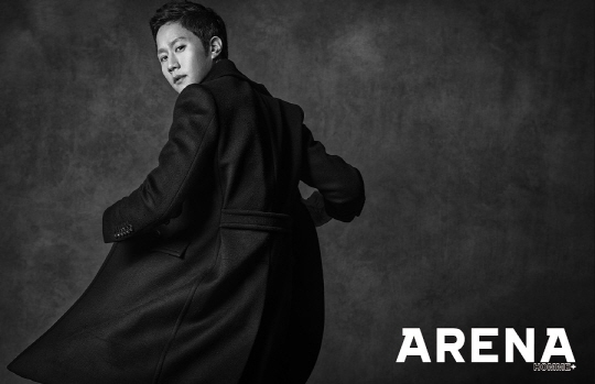 Jung Woo for Arena Oct 2013