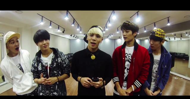 Shinee everybody dance practice