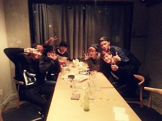Super Junior Exo dinner
