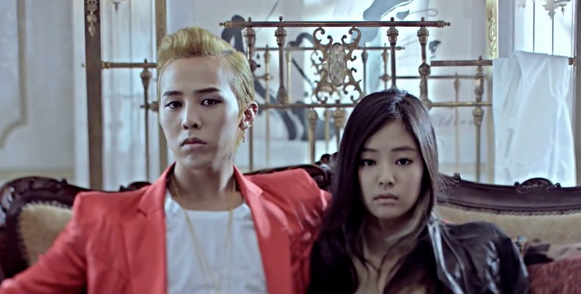 G-Dragon and Jennie Kim