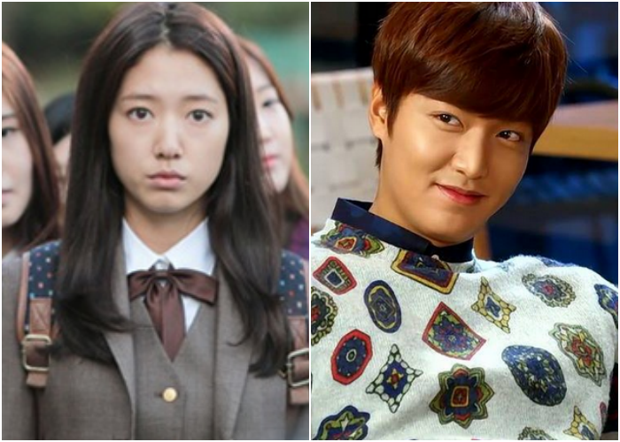 "Lee Min Ho and Park Shin Hye Meet at School in ""The Heirs"" Episode 5 Preview"