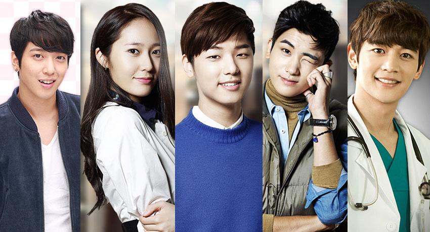 Idols in October Dramas