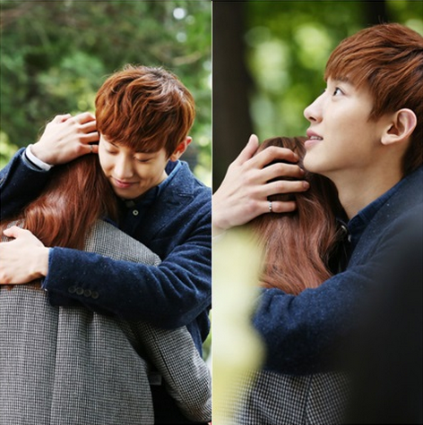 "EXO's Chanyeol Hugs His Lover Tight in K.Will's ""You Don't Know Love"" MV Teaser Image"