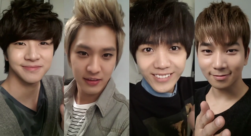 mblaq supports lee joon rough play