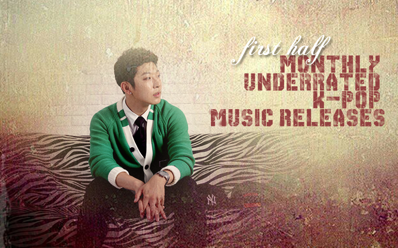 first half monthly underrated kpop music releases october