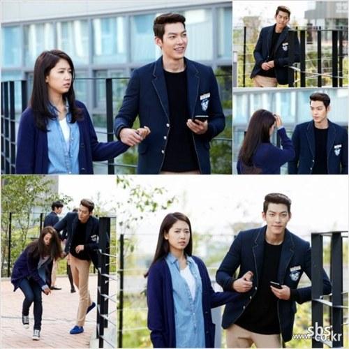 park shin hye and kim woo bin hands heirs