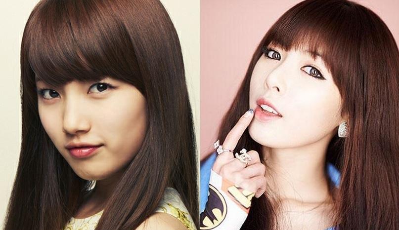 Suzy vs. HyunA
