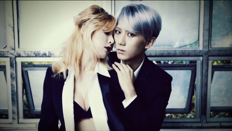HyunA and Hyunseung Reveal Teaser for Their Trouble Maker ...