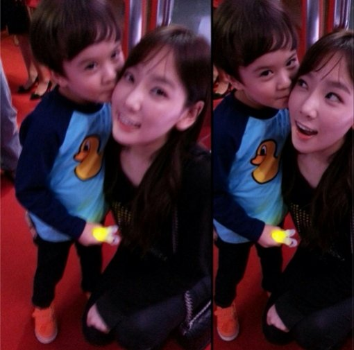 Lincoln and Taeyeon