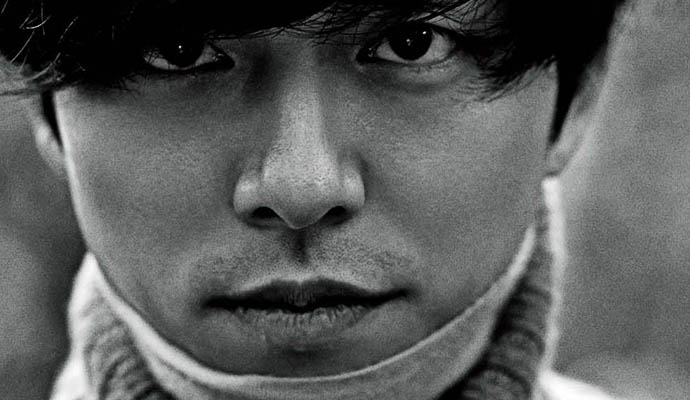 Gong Yoo from Singles Dec upclose