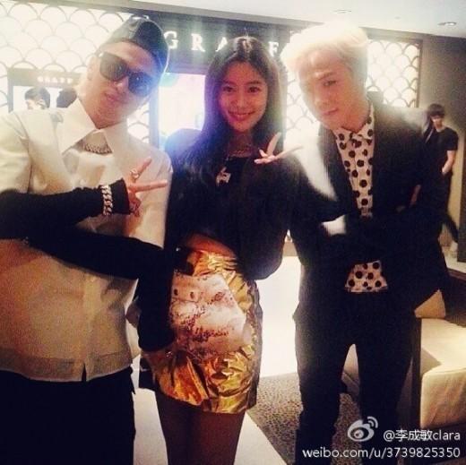 Taeyang, Clara, G-Dragon