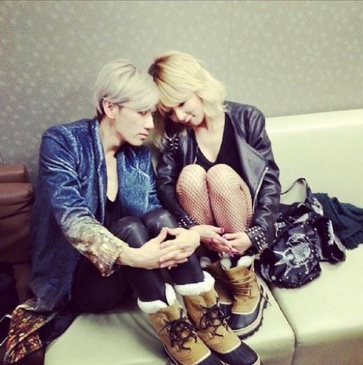troubler maker couple shoes