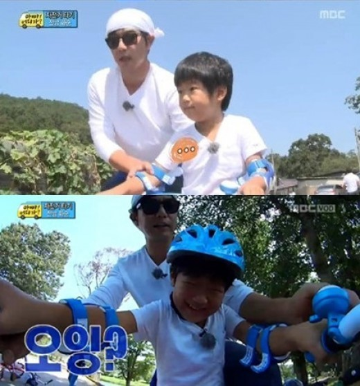 Lee Jong Hyuk and Lee Junsu on Daddy Where are We Going
