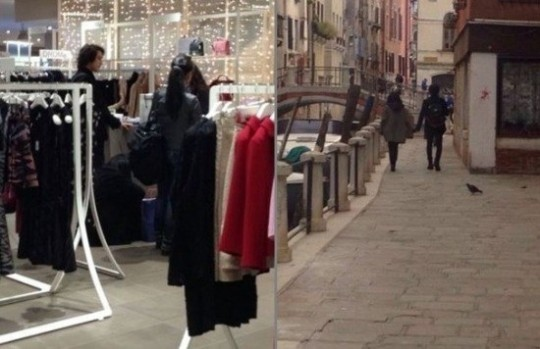 Moon Geun Young, Kim Bum in Milan