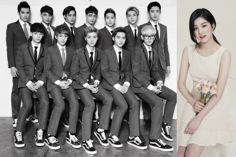 "EXO and Actress Lee Yoo Bi to Host the ""Melon Music Awards"" Together"