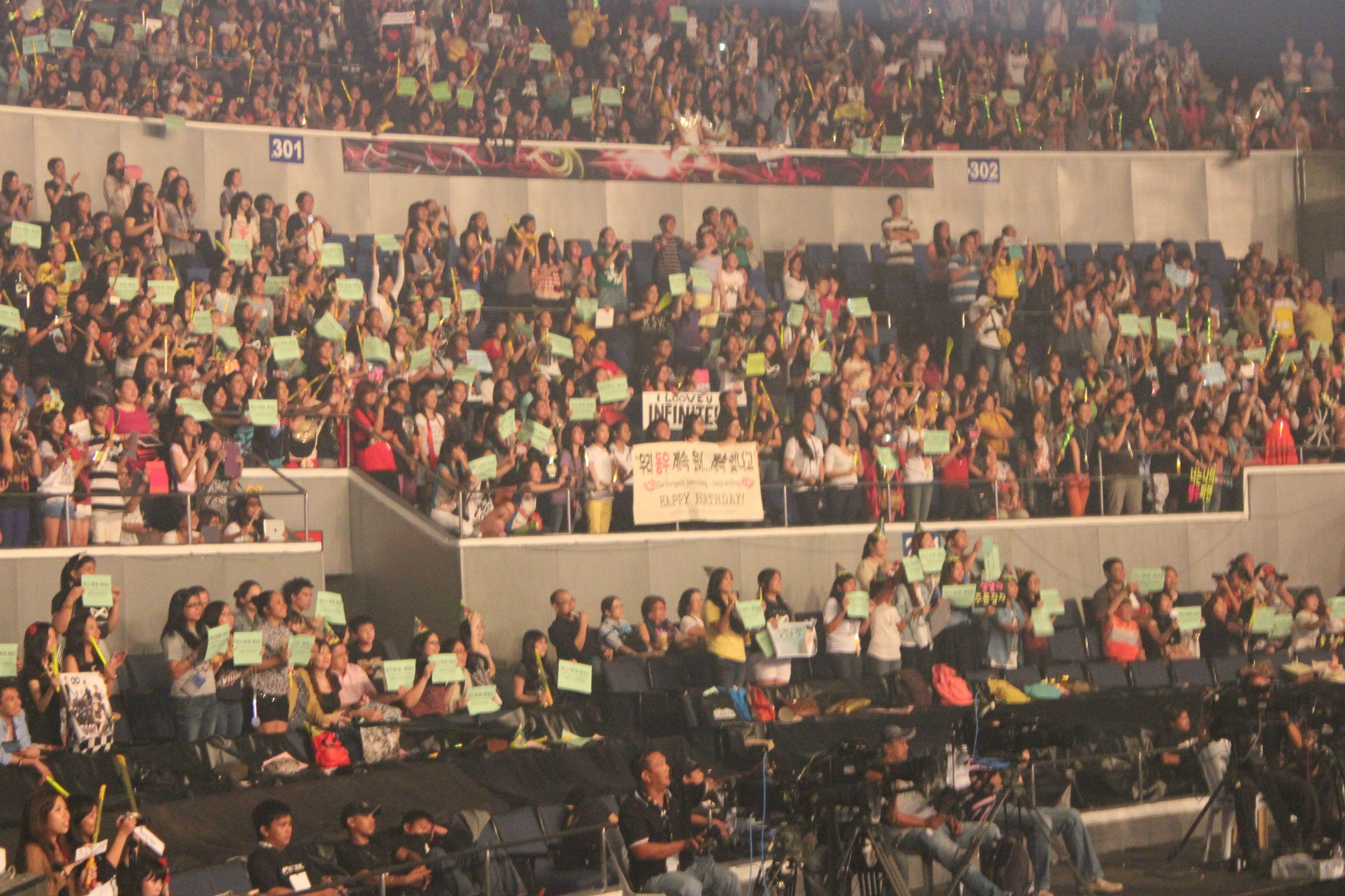 INFINITE One Great Step Manila - Birthday Banner