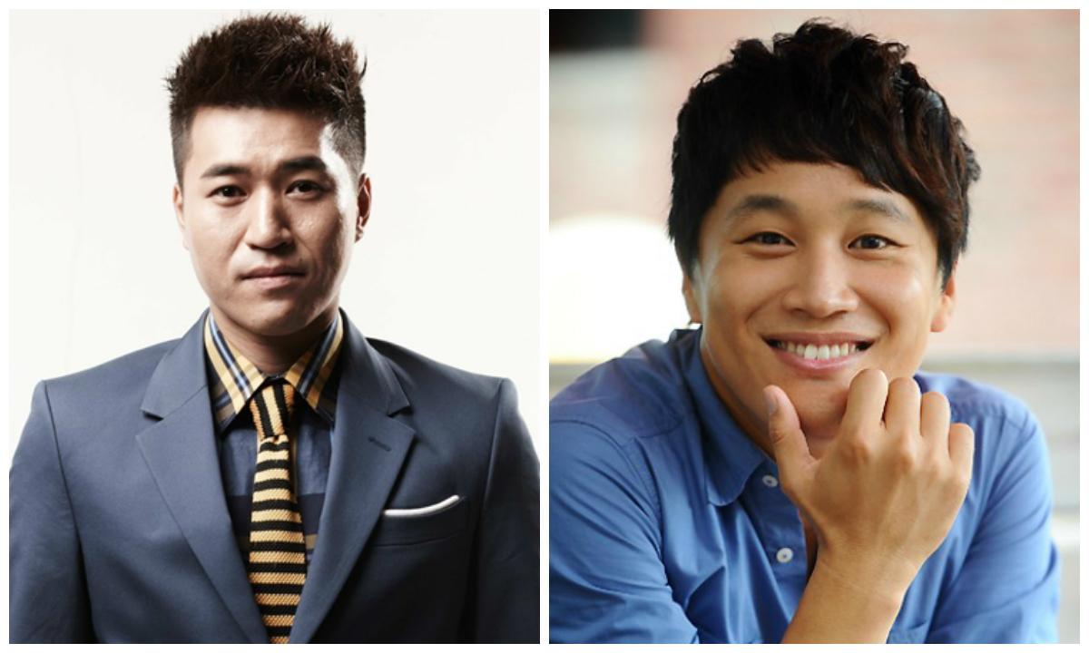 Kim Jong Min and Cha Tae Hyun