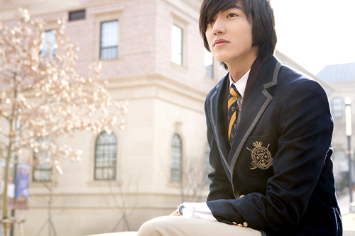 "Lee Min Ho in ""Boys Over Flowers"""