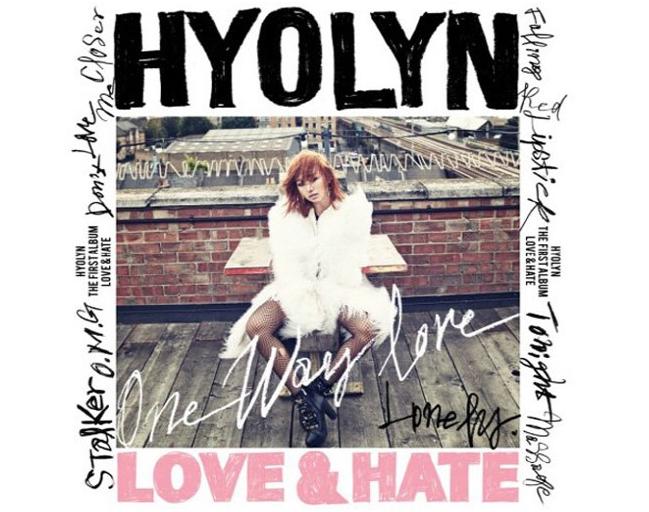 "Hyorin ""All-Kills"" Music Charts with ""One Way Love"""