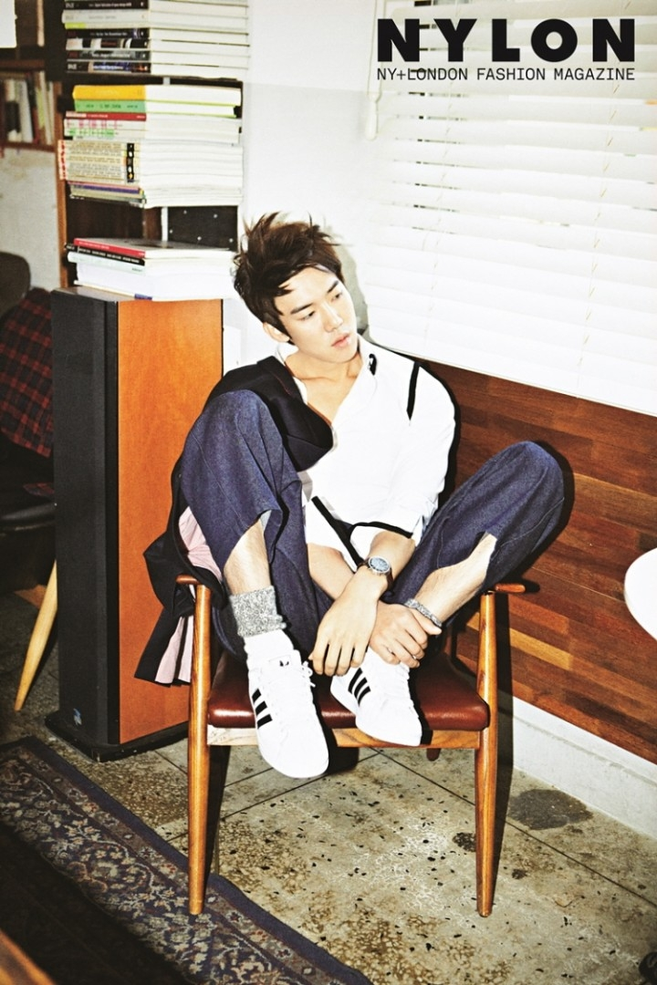 NYLON december 2013 yoo yeon seok