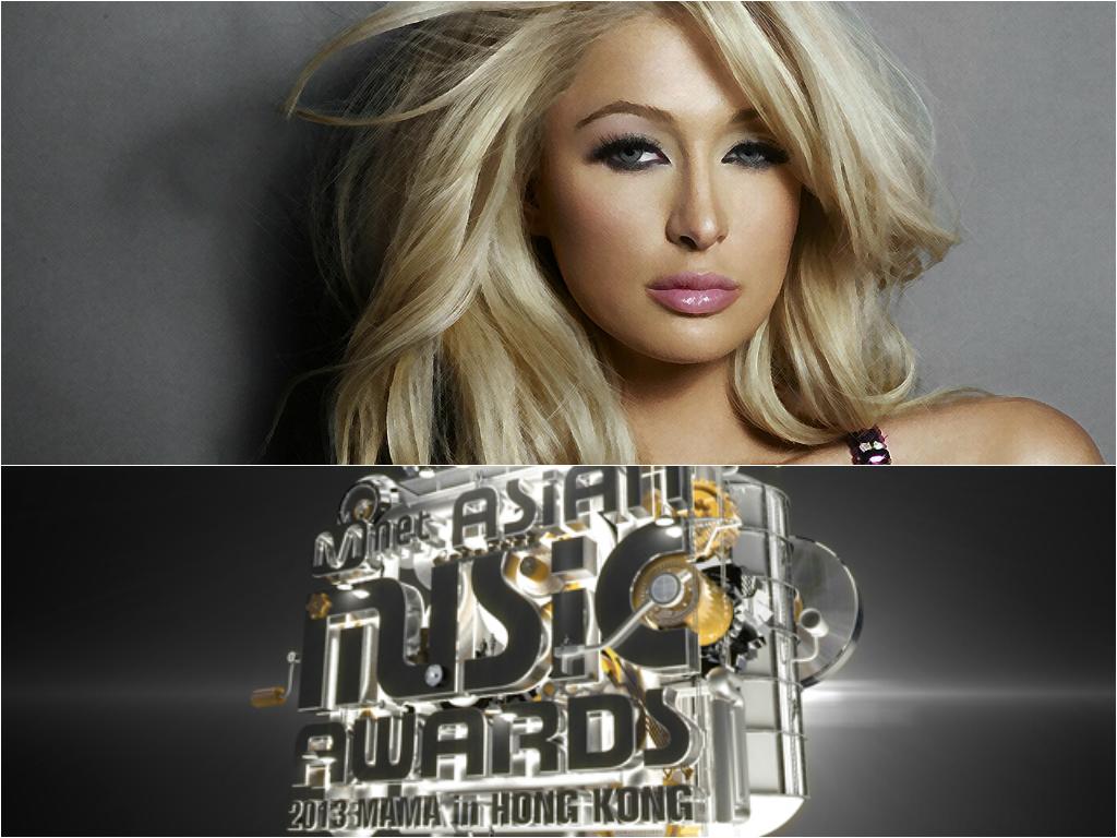 Paris Hilton 2013 MAMA