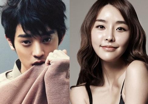 Jung Yoo Mi and Jung Joon Young
