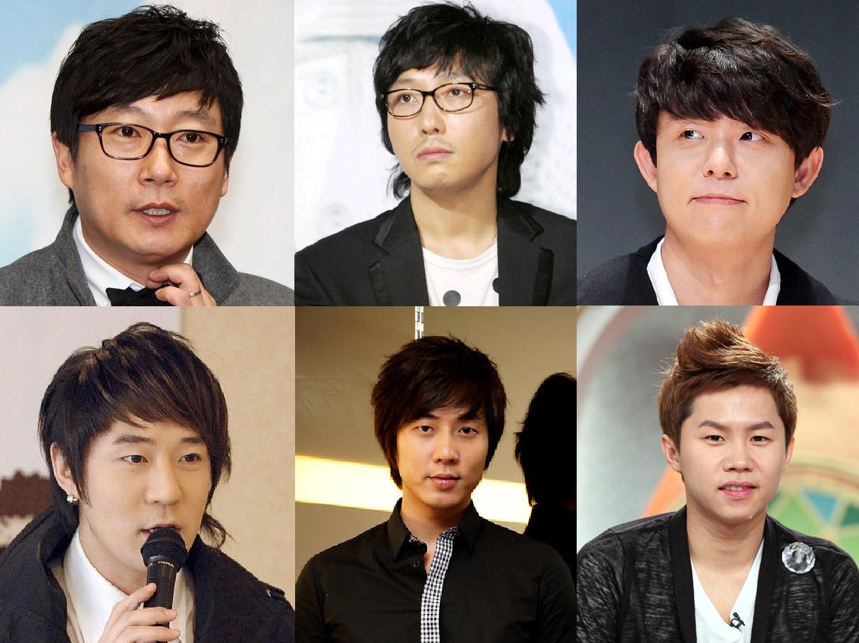 Lee Su Geun, Tak Jae Hoon, Tony Ahn, Boom, Andy, Yang Sae Hyung