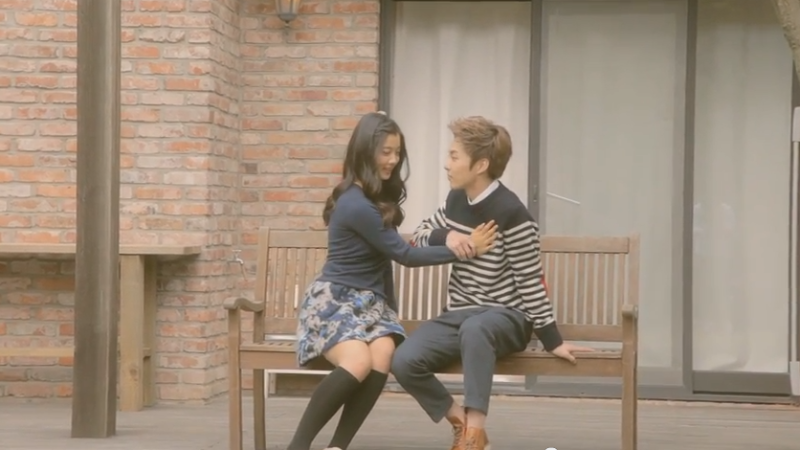 "Xiumin and Kim Yoo Jung Are a Lovely Yet Sad Couple in New Teaser Clip for Jin's ""Gone"""