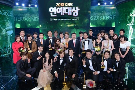 2013 KBS Entertainment Awards Winners