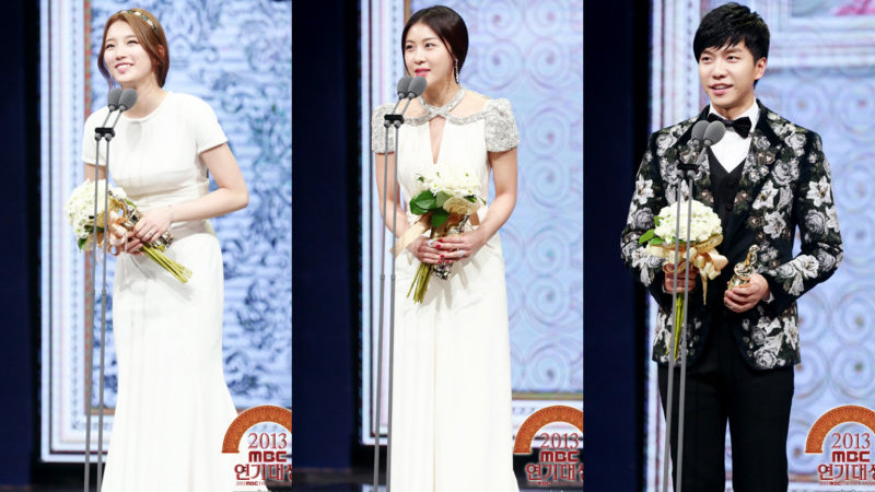 [Live Updates] Winners of the 2013 MBC Drama Awards
