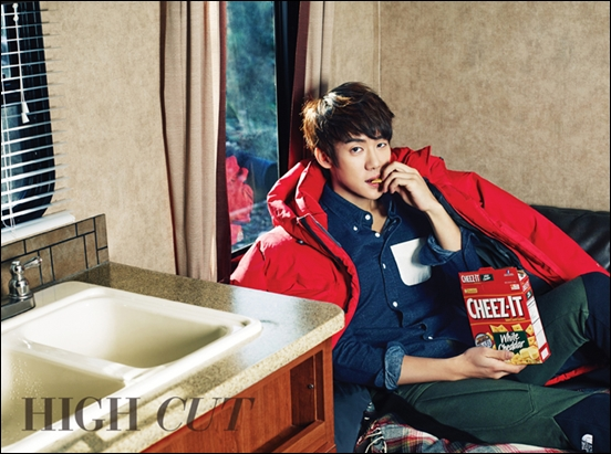 Yoo Yeon Seok's Chil Bong-esque Pictorial Shoot for High Cut Magazine